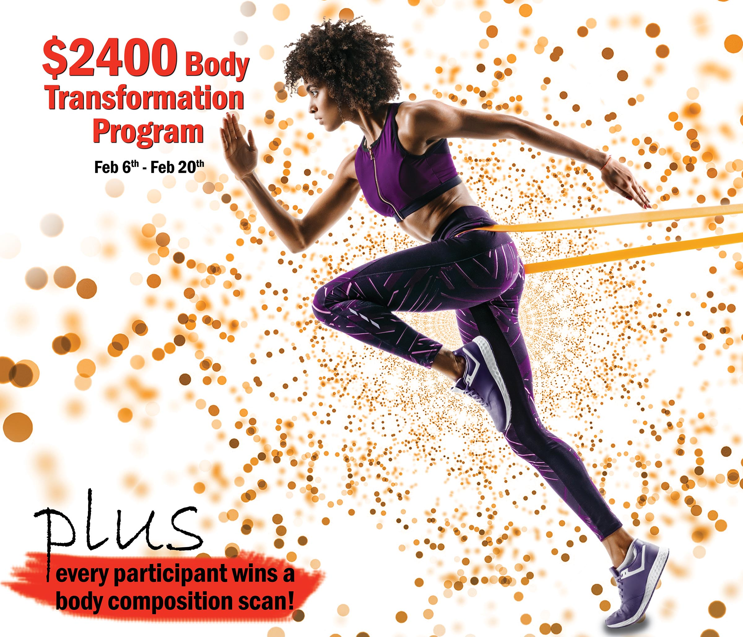 enter for a chance to win body transformation program