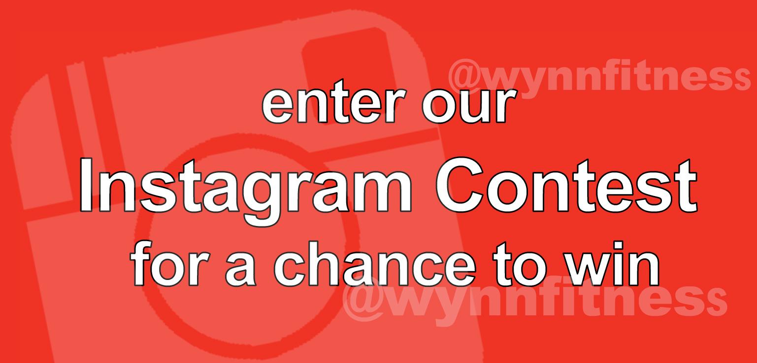 enter our Instagram Contest