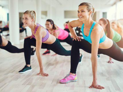 wynn fitness group class